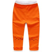 Sweet Cat Print Stretchy Pants for Girl
