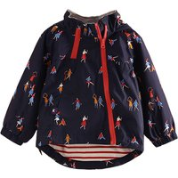 Playful Cartoon Print Hooded Jacket for Baby Girl/Girl