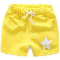 Sweet Star Print Stretchy Shorts for Boy
