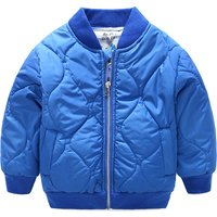 Stylish Long Sleeves Zip-up Coat for Babies and Toddlers