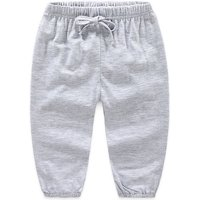 Stylish Comfy Casual Pants with Elastic Waist for Baby and Toddler Boys