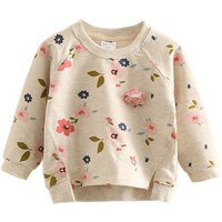Stylish Floral Sweatshirt for Toddler Girl and Girl