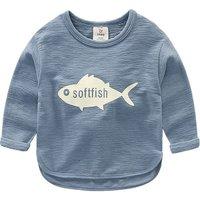 Fun Fish Graphic T-shirt for Boy