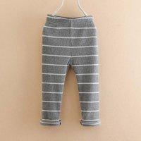 Trendy Striped Leggings for Baby Girl and Girl