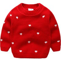 Sweet Heart Graphic Sweater for Toddler Girl and Girl
