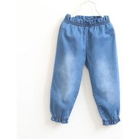 Casual Ruffled Jeans for Girl