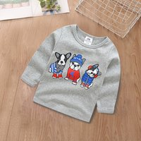 Stylish Dog Printed Sweatshirt for Kid