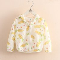 Adorable Pattern Printed Jacket for Kid