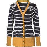 Trendy Stripe Print Long-sleeve Cardigan