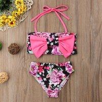 2-piece Pretty Floral Bikini Set