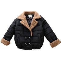 Stylish Sherpa Collar Long-sleeve for Toddler Girl/Girl