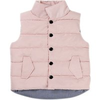 Baby and Toddler's Solid Quilted Vest