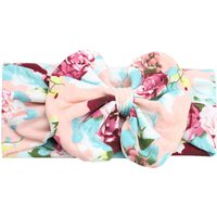Cute Floral Bowknot Headband