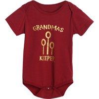 Lovely Key Print Short-sleeve Bodysuit for Baby