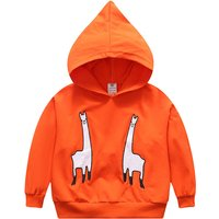 Fashionable Embroidered Animal Hoodie for Baby and Toddler