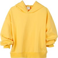 Casual Hooded Long-sleeve Pullover in Yellow for Baby Girl/Girl