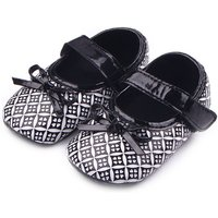 Pretty Plaid Bow Shoes for Baby and Toddler