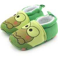 Cuddly Frog Print Slip-ons for Toddler