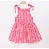 Pretty Embroidered Detail Slip Dress for Girl