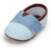 Stripes Velcro Crib Shoes for Toddler