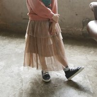 Latest Pleated Layered Skirt for Toddler Girl and Girl