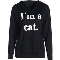 Trendy Cat Ear Decor Long-sleeve Hoodie