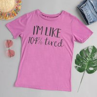 Fashionable Letter Print Tee