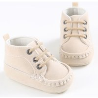 Trendy Solid High Top Shoes for Baby