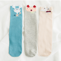 3-pair Lovely Cartoon Graphic Stockings