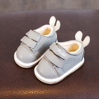 Warm Velcro Rabbit Ear Shoes for Toddler