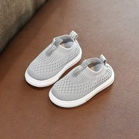 Breathable Solid Mesh Pull-on Shoes for Toddler