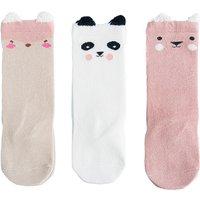 3-pair Lovely Animal Design Socks for Baby and Toddler