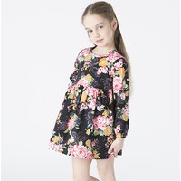 Gorgeous Floral Print Dress for Baby and Toddler Girl