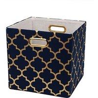 Stylish Gilding Lantern Storage Box