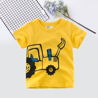 Baby/ Toddler Boy's Car Print Tee