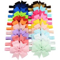 20-pack Colorful Bow Hairband for Baby Girl