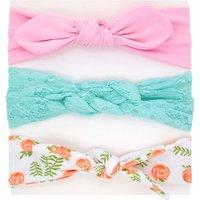 3-piece Pretty Elastic Headband for Toddler Girl