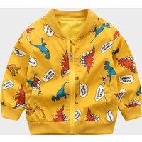 Baby/ Toddler Boy's Dinosaur Pattern Coat