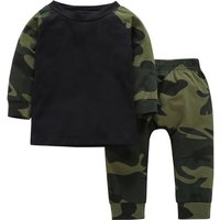 Awesome Camouflage T-shirt and Pants Set for Baby Boy