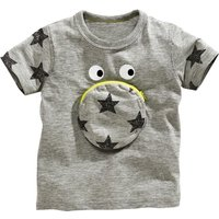 Star & Pocket Accent Short-Sleeve Tee for Baby & Kids