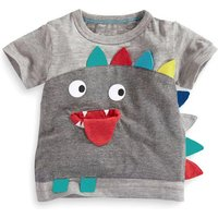 Cute 3D Monster Design Short-sleeve T-shirt for Baby Boy