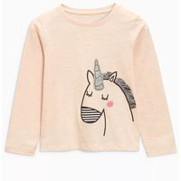 Beautiful Unicorn Print Long-sleeve Tee for Toddler Girl and Girl