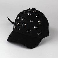 Stylish Solid Rivet Decor Cap for Boy