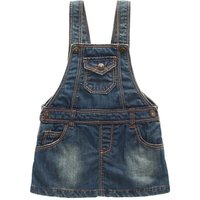 Stylish Denim Overall Dress for Babies