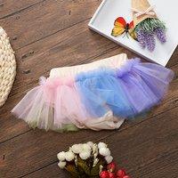 Trendy Colorful Mini Tutu Shorts for Baby Girl