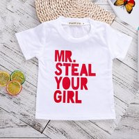 Fun Mr. Steal Your Girl Short-sleeve Tee for Toddler Boy