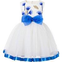 Beautiful Dandelion Print Sleeveless Princess Tutu dress