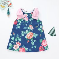 Beautiful Sleeveless Floral Dress for Baby and Toddler