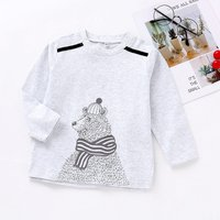Trendy Bear Printed Long-sleeve Sweatshirt for 1-7 Years Boy