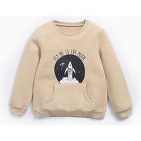 Boys Rocket Printed Sweatshirt
